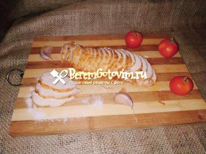 Куриная пастрома с паприкой и медом
