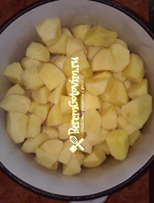 картофель-кусочками