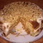 Холодный торт из пряников