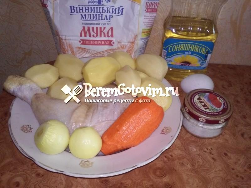 ингредиенты-для-куриного-супа-с-клецками
