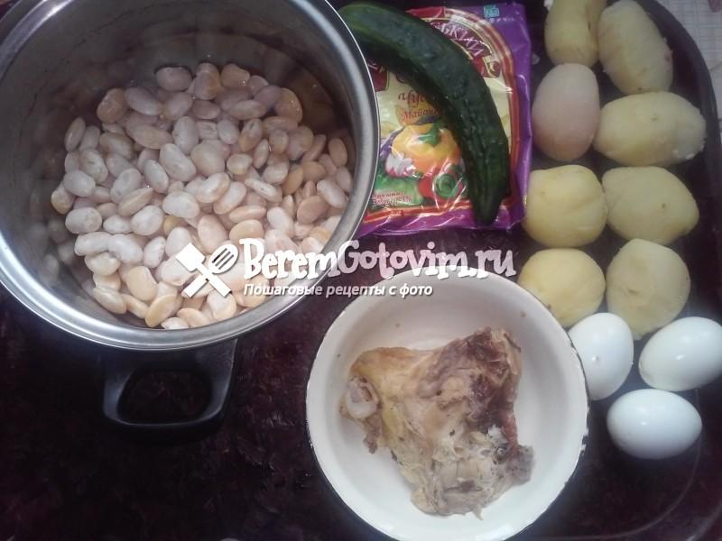 ингредиенты-для-салата-с-курицей-и-фасолью