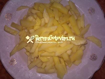 картофель-брусочками