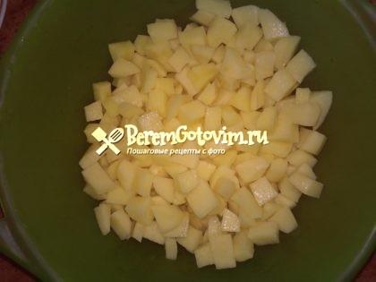 картофель-кубиками