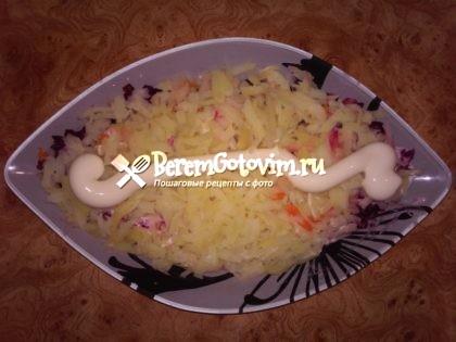 картошка-майонез