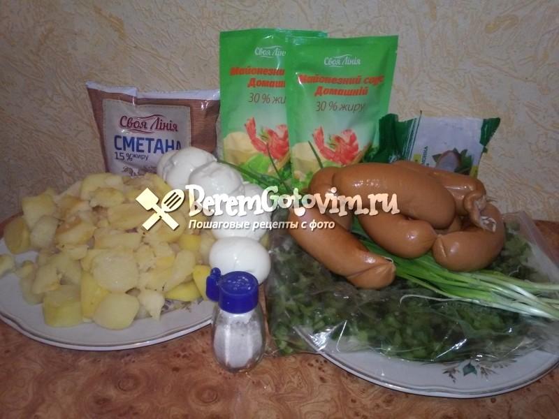 ингредиенты-для-классической-окрошки-с-колбасой