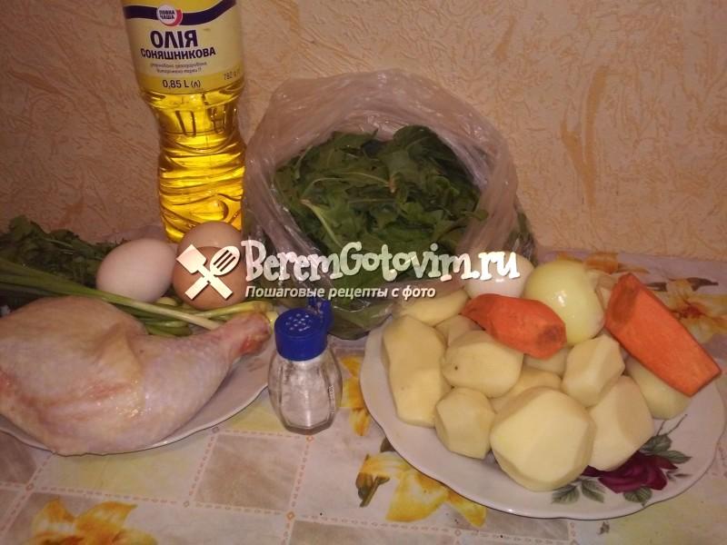 ингредиенты-для-супа-из-щавеля-с-яйцом