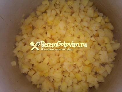 картофель-кубиками.