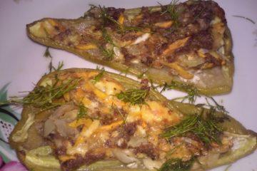 Перцы с фаршем в духовке