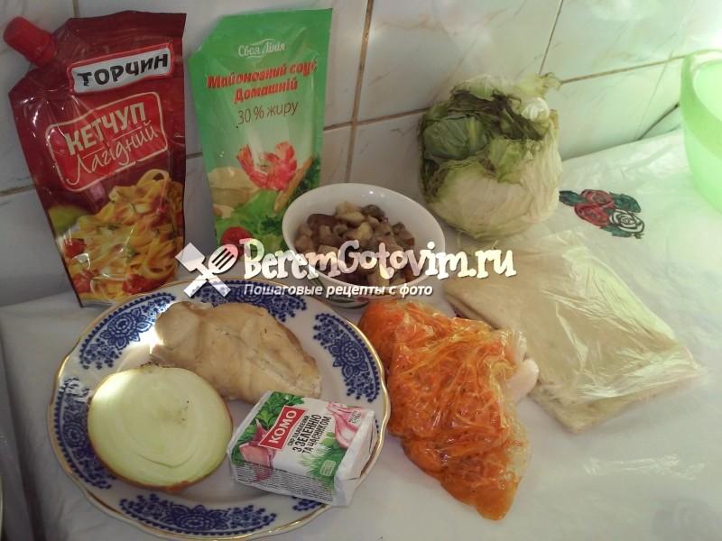 ингредиенты-для-домашней-шаурмы-с-курицей-в-лаваше