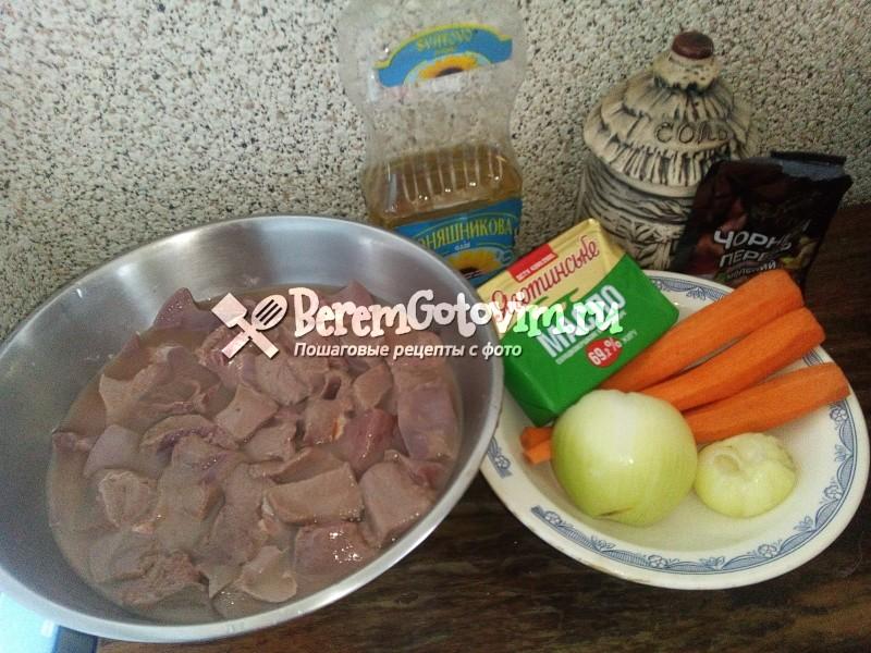 ингредиенты-для-печеночного-паштета-из-свиной-печени