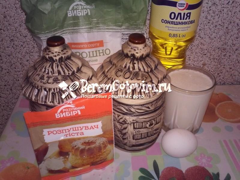 ингредиенты-для-жареных-лепешек-на-кефире