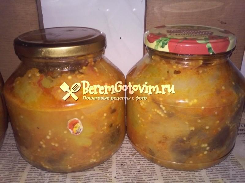 Салат из баклажанов «Десятка»