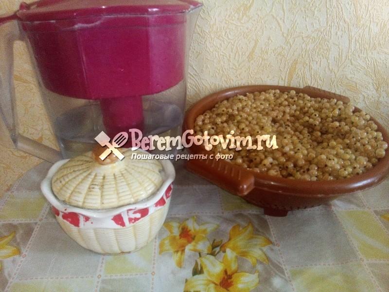 ингредиенты-для-варенья-из-белой-смородины