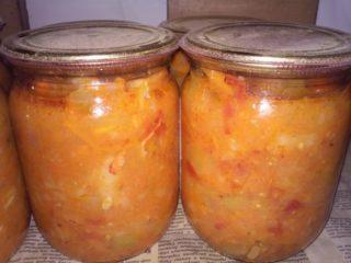 Овощная солянка с грибами на зиму