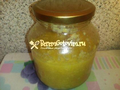 Варенье из лимонов, имбиря и меда