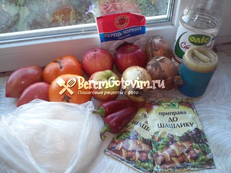 ингредиенты-для-домашнего-кетчупа-с-яблоками