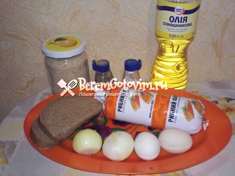 ингредиенты-для-котлет-из-лососевого-фарша
