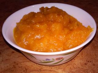 Вкусное пюре из тыквы