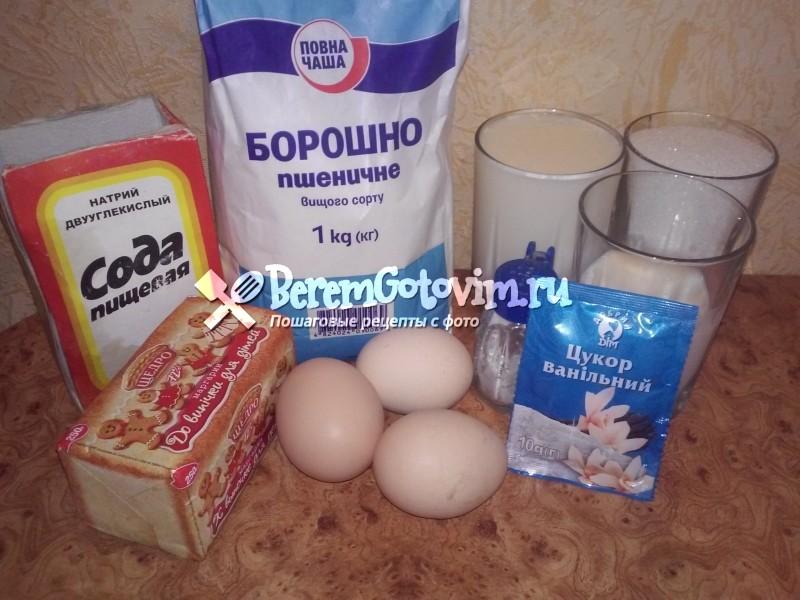 ингредиенты-для-классических-хрустящих-вафель