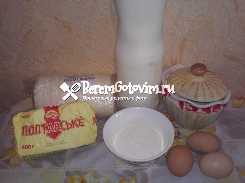 ингредиенты-для-торта-наполеон-с-заварным-кремом.