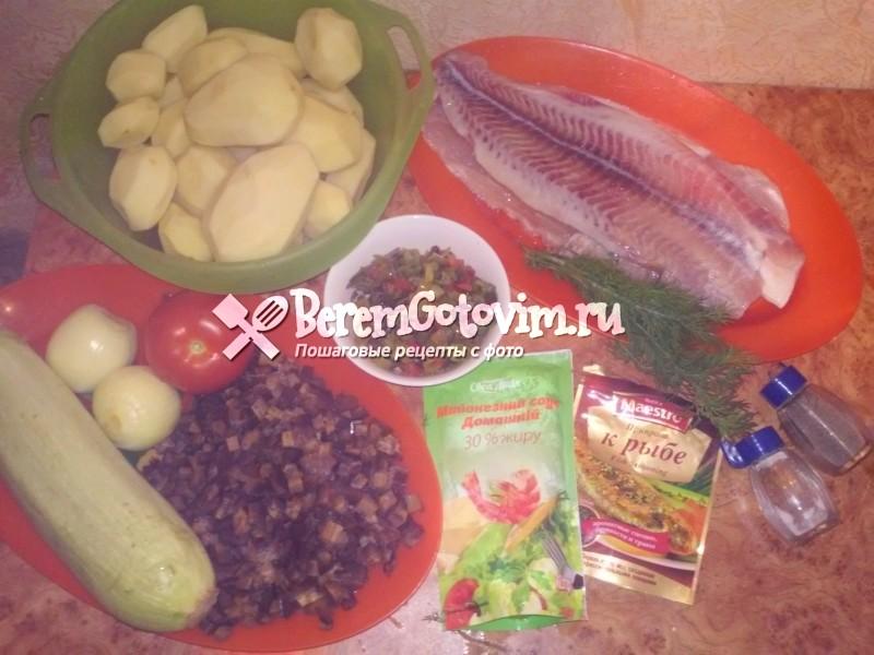 ингредиенты-для-запеканки-с-рыбой-и-овощами