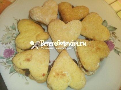 Печенье с цедрой апельсина