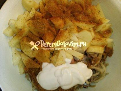 добавляем-картофель-майонез