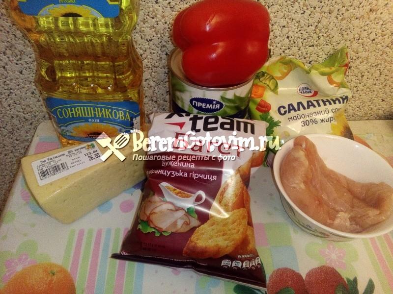 ингредиенты-для-салата-с-курицей-и-ананасами
