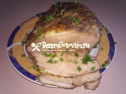 Домашняя буженина из свинины в фольге