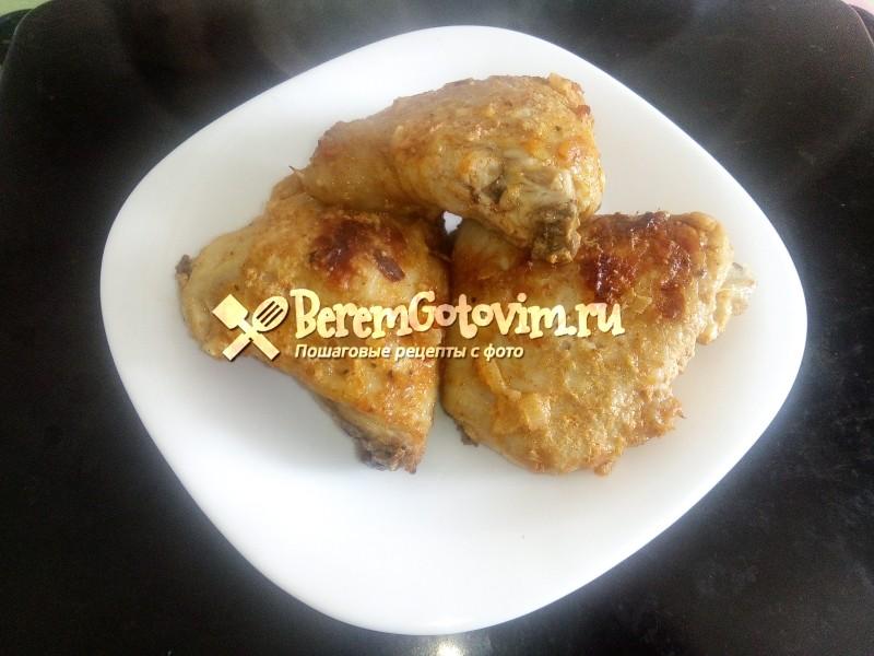 Куриные бедра «барбекю»