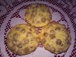 Хрустящие кексы с шоколадными шариками