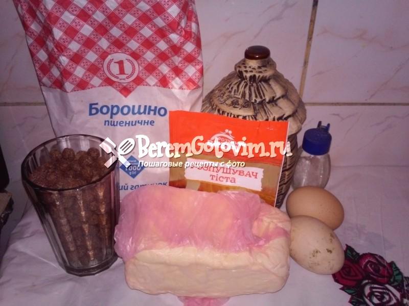 ингредиенты-для-хрустящих-кексов-с-шоколадными-шариками