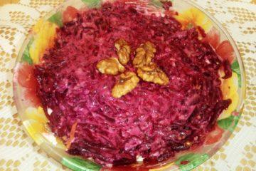 Салат «Три вкуса»
