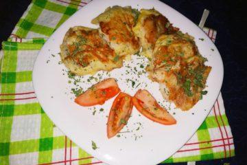Рыба под картофельной шубой
