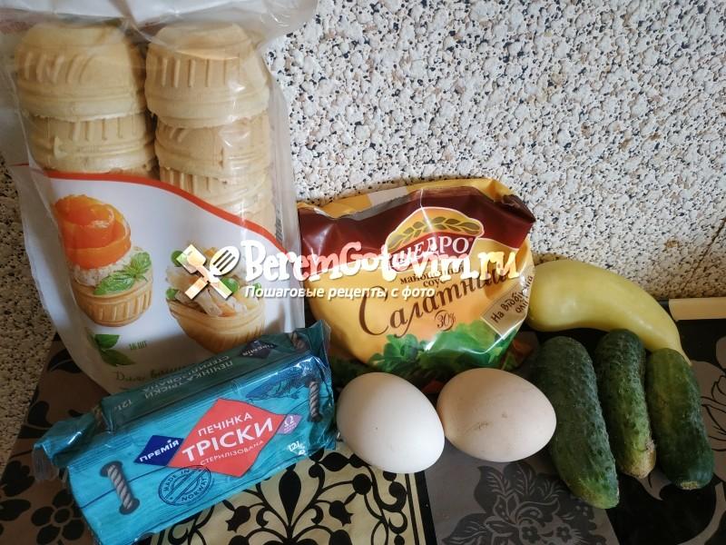 ингредиенты-для-тарталеток-с-печенью-трески