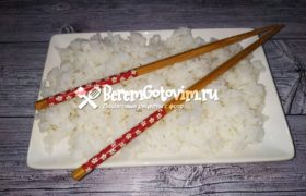 Правильный рис для суши и роллов