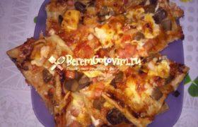 Мини-пицца «Гости на пороге»