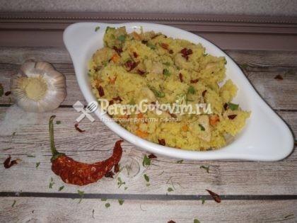 Кус-кус с овощами по-тунисски