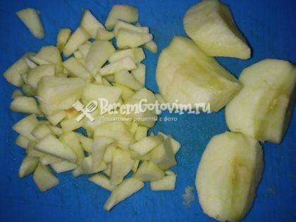 яблоко-режем-кубиками